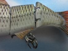 Big Size 152mm 36g Lifelike Multi-jointed Bass Pike Fishing Lure Crank Bait Swimbait Shad Minnow Fish Hook Fishing Tackle