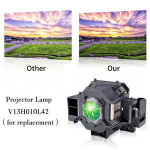 Image 5 - באיכות גבוהה מקרן הנורה ELPLP42/V13H010L42 EMP 83H EMP 410WE EMP 280 EMP 270 EMP 822H EMP 400WE H281A מנורת מקרן