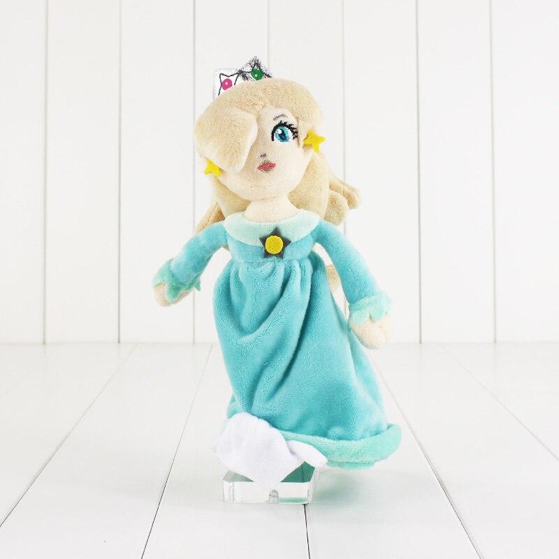 1 pcs 23 cmsuper mario bros princesse rosalina peach princesse