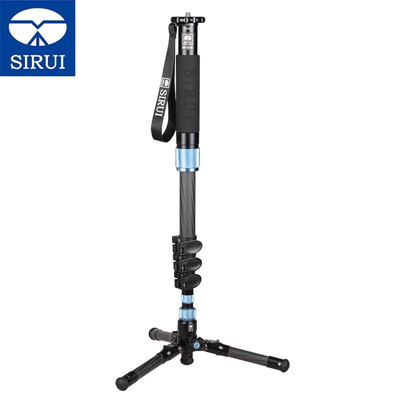 SIRUI Carbon Fiber Monopod EP-224S Professional Photo/Video Monopod Portable Tripod Stable Photography Bracket For Digital SLR