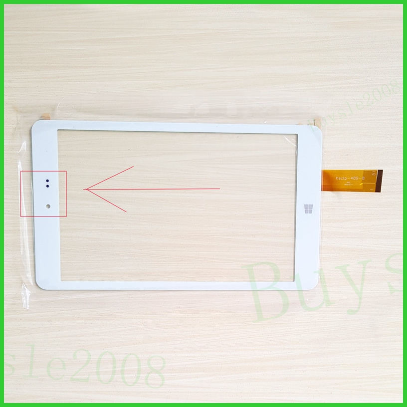 Nuovo HSCTP-489-8 Per 8 ''Chuwi Hi8 Intel Z3736F Vi8 CW1507 CW1512 Z3735F Quad Core Touch Screen digitizer pannello di vetro pellicola