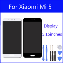 Original LCD For Xiaomi Mi 5 M5 Mi5 Pro Prime Display Screen Digitizer Touch Screen Glass Panel 5.15 Inch Replacement FreeTools