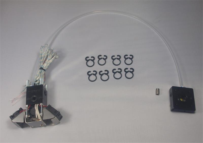 SWMAKER Ultimaker 2/2 Extended full Extrusion kit extruder print head hotend kit/set for DIY 3D printer for 3mm filament horizon elephant um2 ultimaker 2 3d printer accessories cross slider chimera 2 colors outet hotend print head full kit