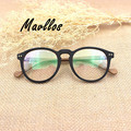 Mavllos Eyewear Eyeglass Optical Acetate Full Rim Wood Glasses Frames For Women Big Round Retro Glasses Women Eyewear Vintage