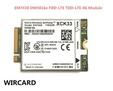 WIRCARD สำหรับ EM7430 DW5816e GOBI6000 cat6 300 M 4G LTE WWAN DW5816e สำหรับ 7280 7285 7290 7389 7390 7480 7490 E7470