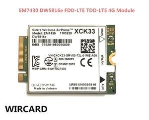 Image 1 - WIRCARD สำหรับ EM7430 DW5816e GOBI6000 cat6 300 M 4G LTE WWAN DW5816e สำหรับ 7280 7285 7290 7389 7390 7480 7490 E7470