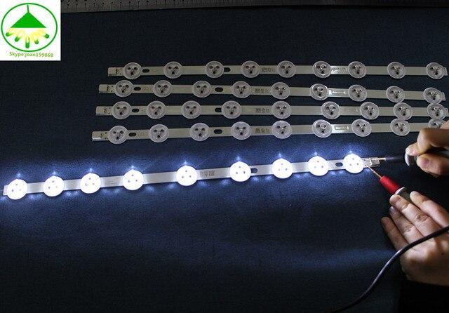 """LED şerit Için 40 """"NDV REV1 39PF3025D 40L1333DB P40LED13 VES390UNDC 01 VES390UNDC 01 VES400UNDS 02 VES400UNDC 01 VES400UNDS 02"""