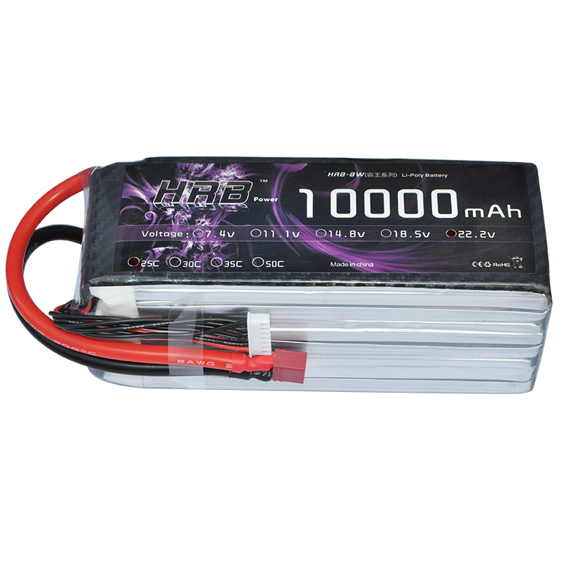 россия платье s 25 max HRB Lipo Battery 22.2V 10000mAh 6S 25C Max 50c  XT60 For RC Car Airplane Helicopter Quadcopter Parts Drone Lithium Bateria
