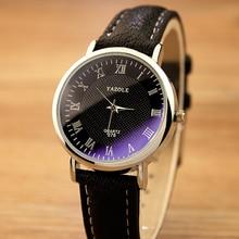 YAZOLE Reloj Caliente de La Manera de Las Mujeres Reloj de Pulsera Relojes de Las Mujeres 2017 Señoras de la Marca Famosa de cuero Mujer Reloj de Cuarzo Relogio Feminino