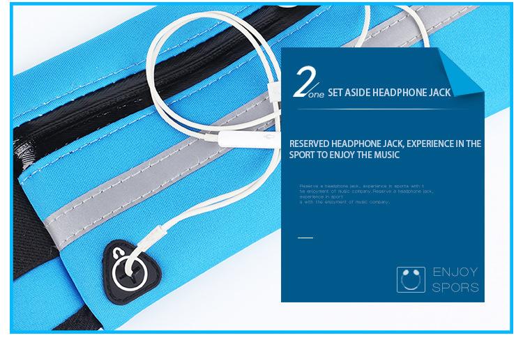 Outdoor Running Waist Bag Waterproof Mobile Phone Holder Jogging Belt Belly Bag Women Gym Fitness Bag Lady Sport Accessories 20