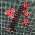 Kit de varillas de empuje Diagonal de tubo de carbono para impresora DIY Delta Kossel 3d