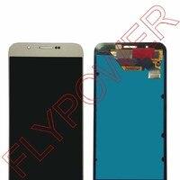 Для samsung Galaxy A8 A8000 сборка ЖК диспоея с дискретизатором сенсорного экрана золото Бесплатная доставка