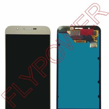 Untuk Samsung Galaxy A8 A8000 LCD Display dengan Layar Sentuh Digitizer Perakitan emas dengan pengiriman gratis