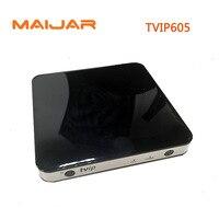 10 шт. ТВ IP 605 Умные телевизоры коробка Linux OS Поддержка 4 ядра ТВ ip605 Super Clear двойной Системы Linux или Android OS Декодер каналов кабельного телевидения