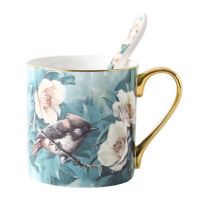 Cuckoo Bird Large Mug