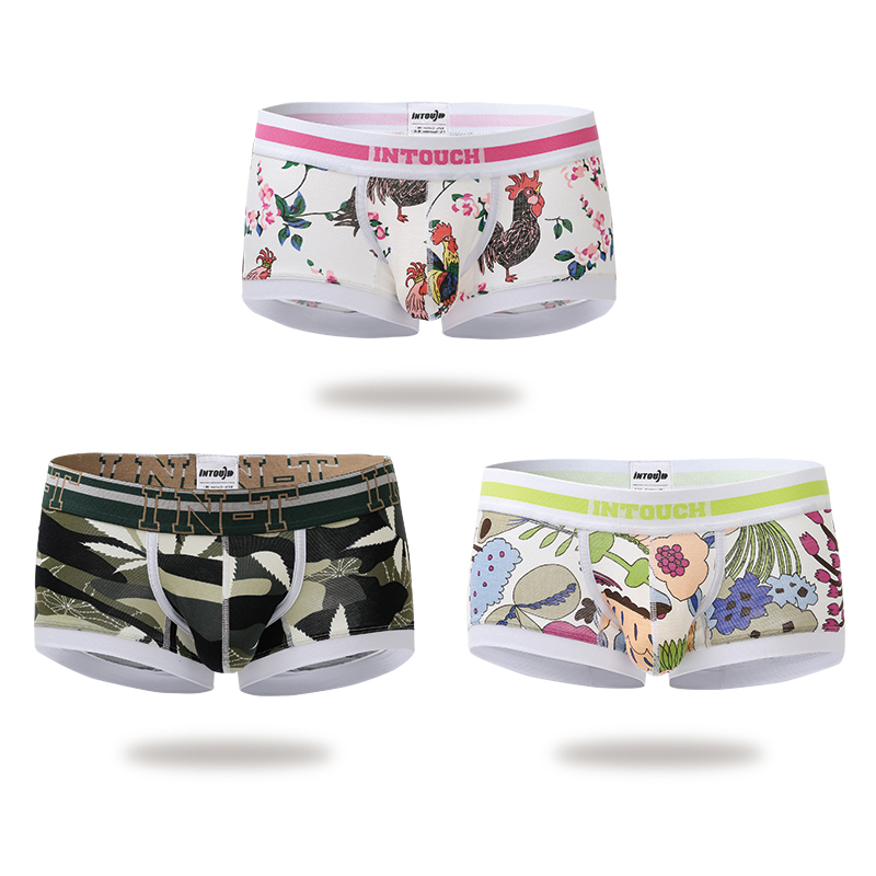 Men Boxer Men Underwear New arrival Animal Low waist hot sales Underpant