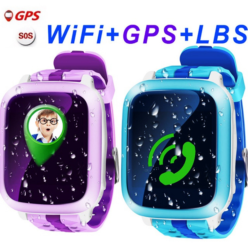 DS18 GPS Children Smart Watch DS18 GPS WiFi Locator Tracker Kid Wristwatch Waterproof SOS Call Smartwatch Child For IOS Android