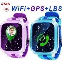 DS18 gps Детские умные часы DS18 gps локатор WiFi трекер детские наручные часы водостойкий SOS Вызов Smartwatch ребенок для IOS Android