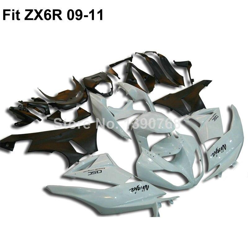 Φ_ΦCarenados kit de carrocería para Kawasaki Ninja 636 ZX6R 2009 ...