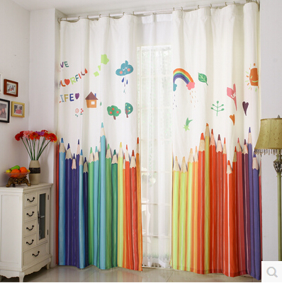 130x250cm kids room curtain window curtains for baby room kids ...