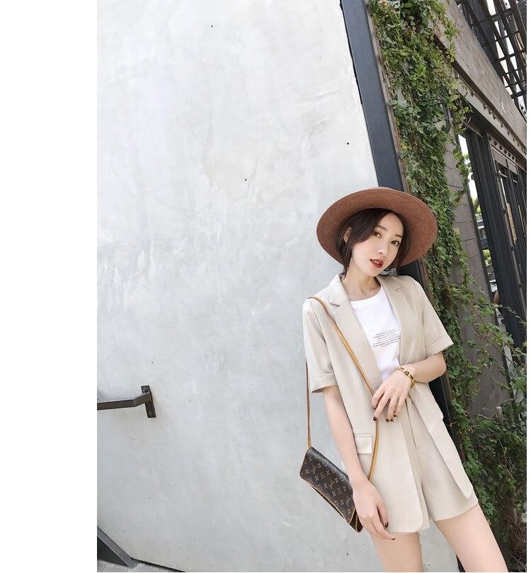2019 estate nuova versione Coreana di modo delle donne preoccupazione con un due piece Hong Kong nifty piccolo vestito bicchierini del vestito - 2