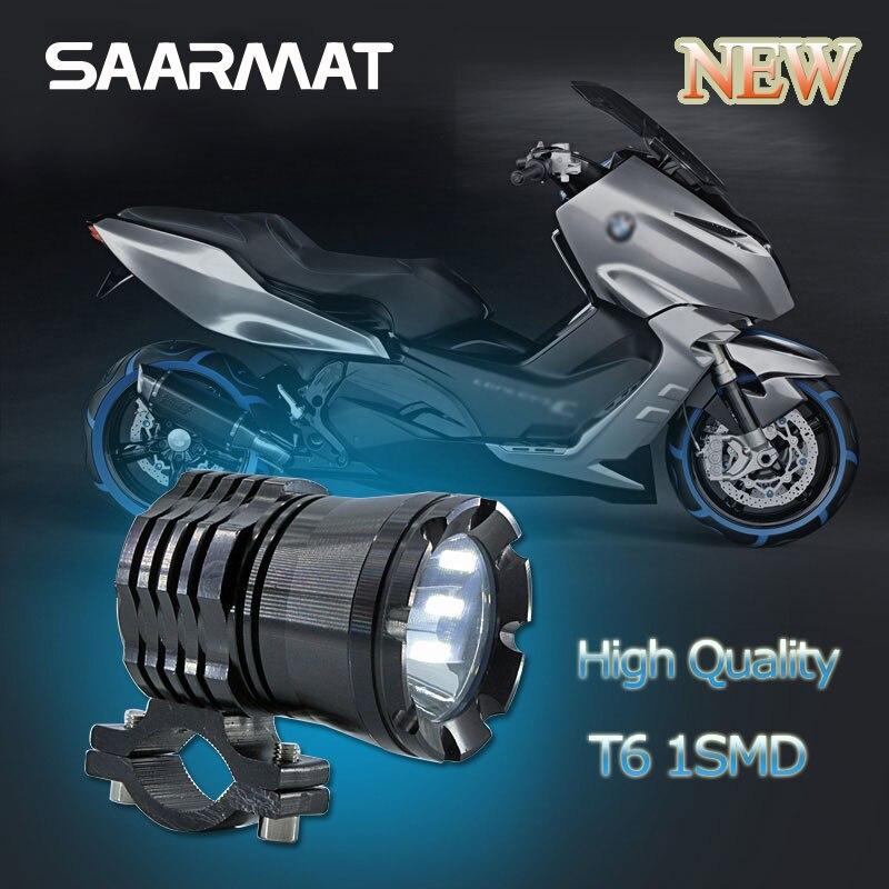 1 st 30W 3000lm U5 Chips LED Lacer Gu 12V-60V glödlampa strålkastare Motorhuvudlampa för BMW Honda Suzuki Motorcykel