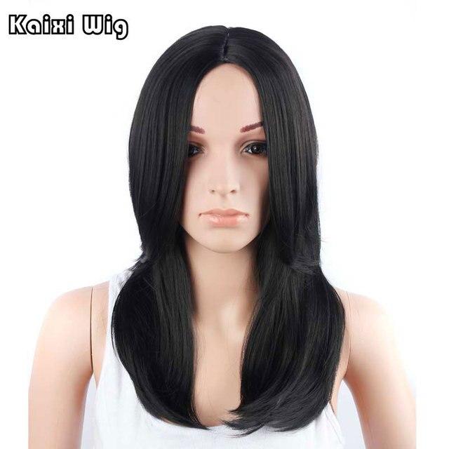 cortes de pelo largo negro barato pelucas para las mujeres negro lolita peluca de cabello natural