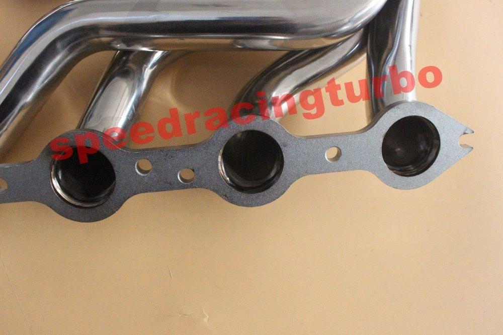 Header buang UNTUK FIT Chevy GMC Silverado Sierra FIT V8 4.8L 5.3L - Suku cadang mobil - Foto 3