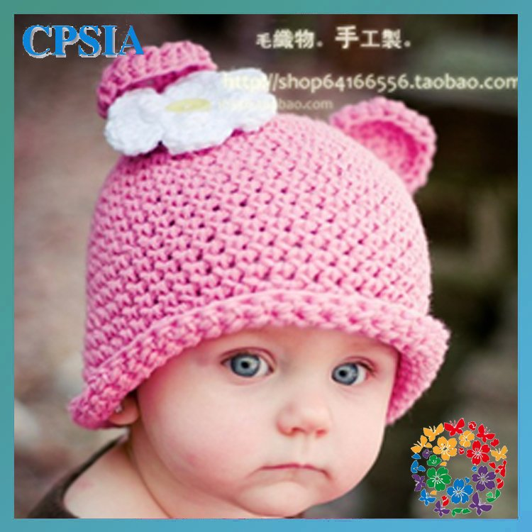 Cute baby Owl hat Fashion style baby caps Owl crochet hat Baby hat knitting  pattern In stock 24pcs lot 0fa604355d6