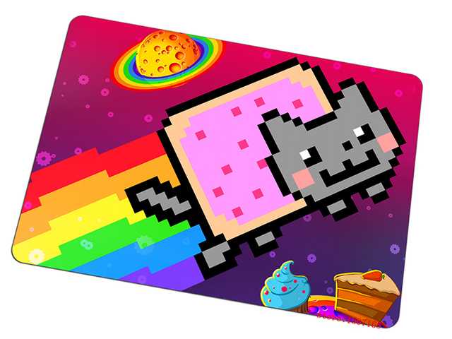 Aliexpress Buy Nyan Cat Mouse Pad Adorable Gaming Mousepad