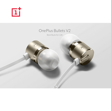 Original OnePlus Bullet 2 V2 3.5mm In-Ear Dynamic Earphone Headset Earbud with Mic & Volume Remote for OnePlus 3 3T 2 1 X