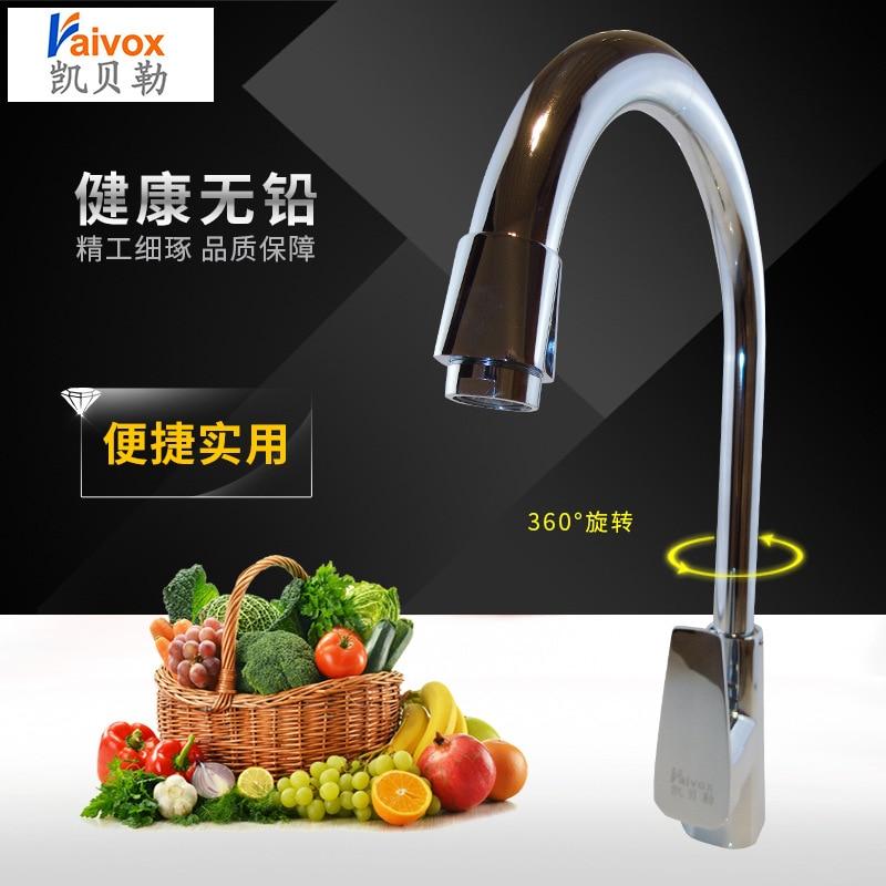 ITAS9909 robinet unique tout en cuivre eau chaude et froide simple trou table bassin cuisine salle de bains bassin surélevé mélangeur en laiton 2017