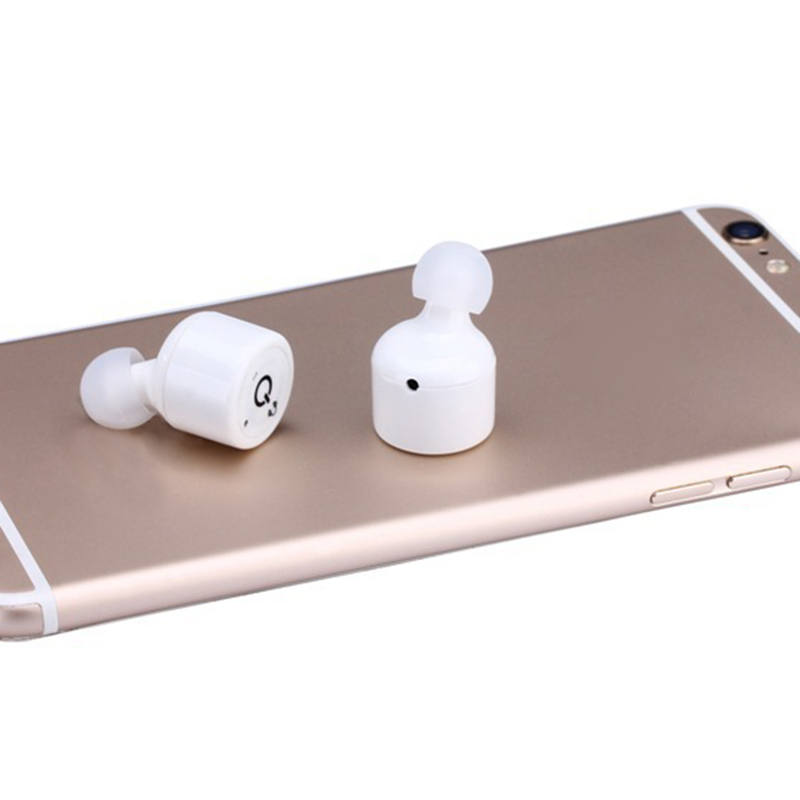 Mini True Wireless Bluetooth Earphone Twins Stereo In-Ear Earbuds HIFI Sound For Sport  Cute Earphones 4 Color Choices portable smart mini wireless bluetooth twins stereo mini double in ear headset earphone earbuds
