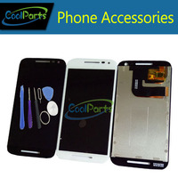 1PC Lot Black Color For Motorola MOTO G3 G 3rd Gen LCD Display And Touch Screen