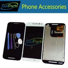 1 шт./лот для Motorola Moto G3 G 3rd Gen XT1544 XT1550 XT1540 XT1541 ЖК-дисплей Дисплей + Сенсорный экран планшета и инструмент черно-белый цвет