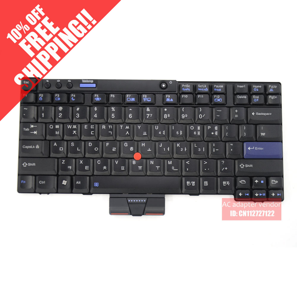 Korean KR FOR LENOVO FOR IBM for Thinkpad X200 X201 X201I laptop keyboard  new original for lenovo thinkpad x200 x200s x200 tablet x201 x201i x201s x201 tablet keyboard thailand