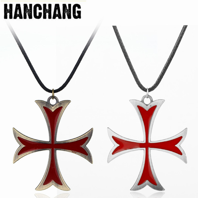 Medieval Jewelry Mens Necklace Stainless Steel Vintage Knights