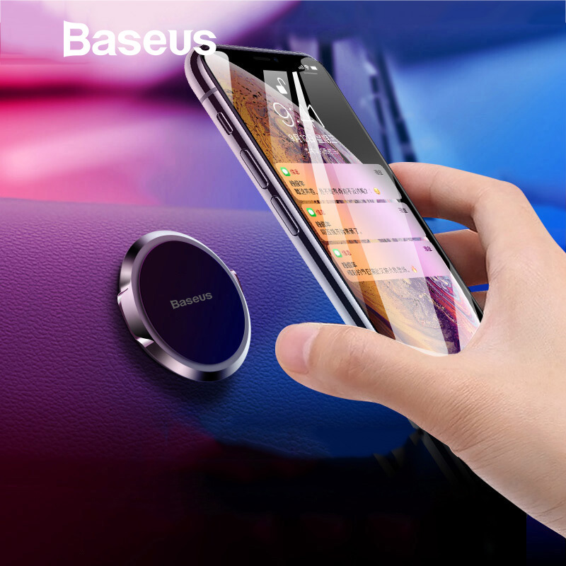 Image 2 - Baseus Univeral Magnetic Car Phone Holder Air Vent Mount Magnet Dashboard Car Holder Desk Wall Sticker Mobile Phone Holder Stand-in Phone Holders & Stands from Cellphones & Telecommunications
