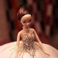 D0377 Best подарки для девочек 50 см Kurhn принцесса кукла с большими торжественное платье подарок Элитная одежда установить Handemade Романтичная неве