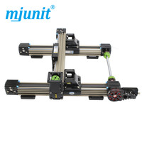 Mjunit 45N Synchronous belt rail gantry type sliding table module automation CNC table can be customized travel