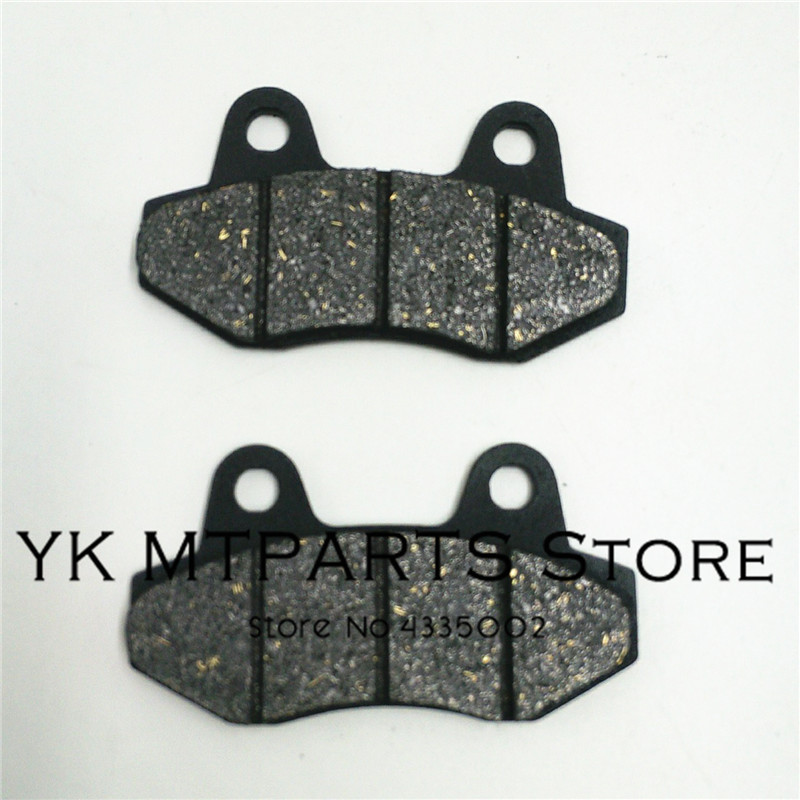Disc Brake Pads 2pc/pair Fit To Pit Pro GPX Kayo BSE IRBIS 110cc To 250cc Dirt Pit Bike Brake System Parts image