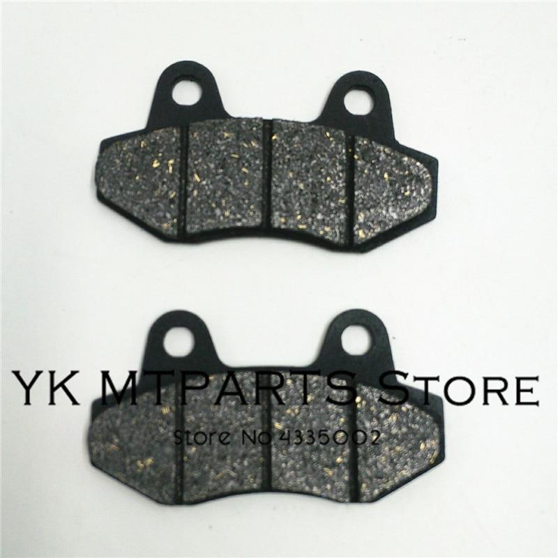 Disc Bremsbeläge 2 Pc/pair Fit Zu Pit Pro Gpx Kayo Bse Irbis 110cc Zu 250cc Dirt Pit Bike Bremse System Teile Hell In Farbe