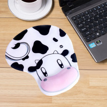 Cute Wristband Mouse Pad Creative Silicone Animation Game Non Slip Wrist Pad Student Office Supplies(China)
