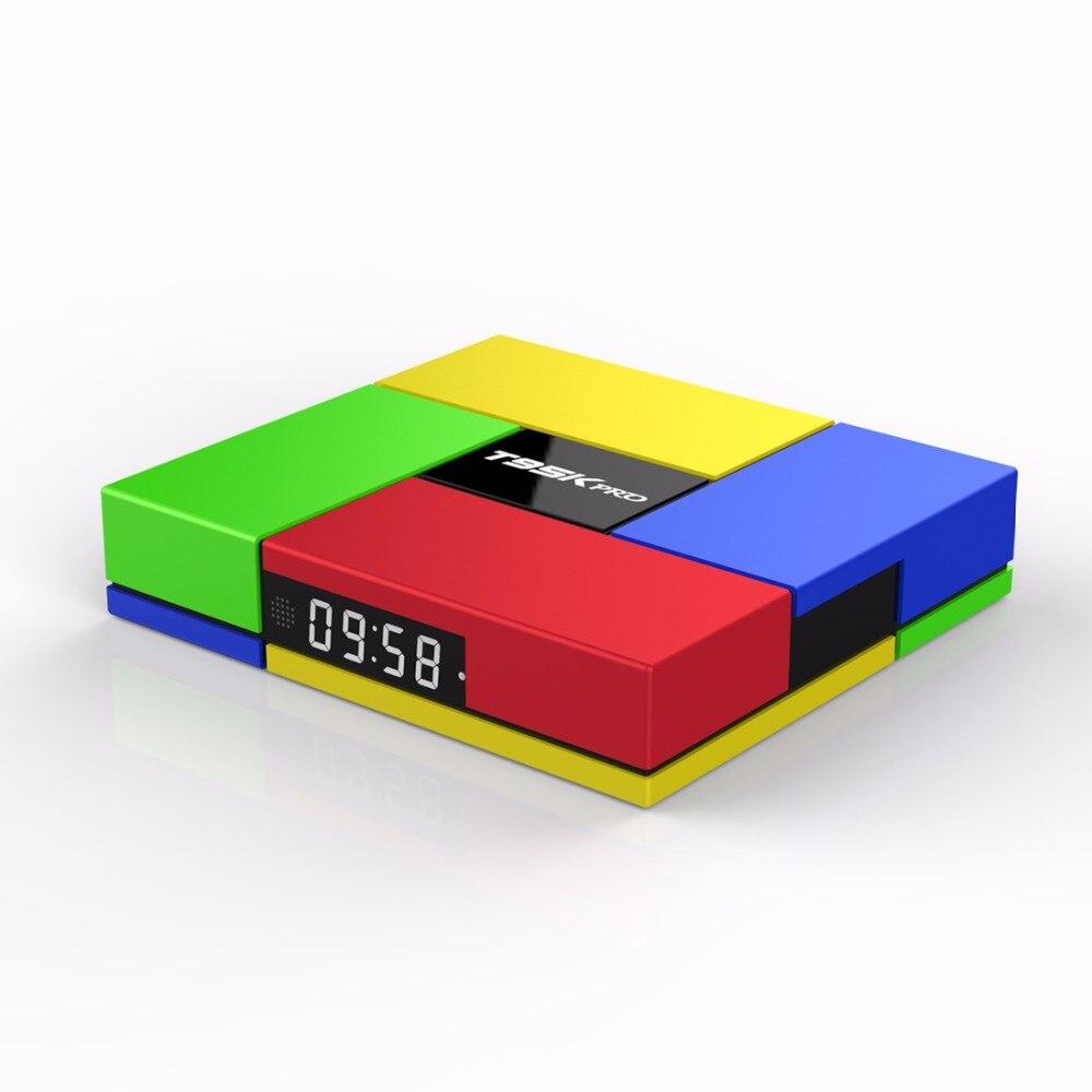 T95K PRO 2GB 16GB Android 6.0 Smart TV box Octa Core Amlogic S912 KODI Dual Band WIFI BT4.0 4K Media Player smart android tv box zidoo x6 pro octa core hd 4k 3d 2gb 16gb h8 m8s network media player hdmi 2 0 bluetooth 4 0 dual wifi kodi