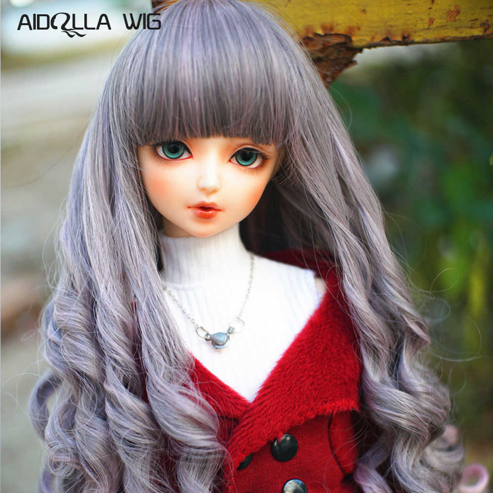 Doll wigs medium-length curly wigs for 1//3 1//4 1//6 BJD SD dollfie BJD wigs