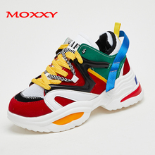 Size 35-46 Street trend Couple Colorful Sneakers Women Man 2019 Casual Shoes Woman Chunky Dad chaussures femme