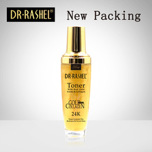 2 pcs Facial Toner 24K Gold Collagen Essence Whitening Moisturizing 120 ml DRRASHEL