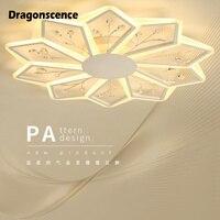 Dragonscence роскошные современные потолочные хрустальная люстра Роскошные хрустальная люстра для Гостиная Обеденная лобби