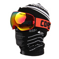 Cráneo Balaclava Mascarilla Bufanda de Invierno Térmico A Prueba de Viento de Snowboard de Esquí Máscara Motocicleta de La Bicicleta Ciclismo Media Mascarilla Al Aire Libre