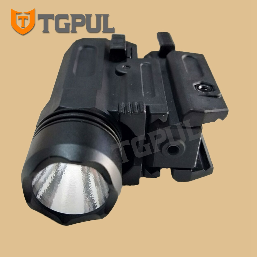 TGPUL Red Dot Laser Sight Tactical Airsoft Handgun Flashlight Combo LED Tactical Gun Torch for 20mm Rail Glock 17 19 18C 24 P226-1
